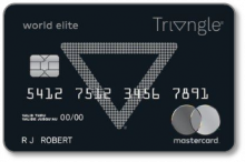 Canadian Tire Triangle World Elite Mastercard