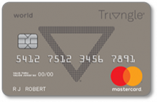 Canadian Tire Triangle World Mastercard