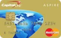 Capital One Aspire Gold MASTERCARD