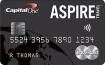 Capital One Aspire Travel World MASTERCARD