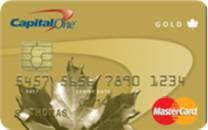 Capital One Gold MASTERCARD with a 9.9% Interest Rate