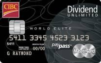 CIBC Dividend Unlimited World MASTERCARD