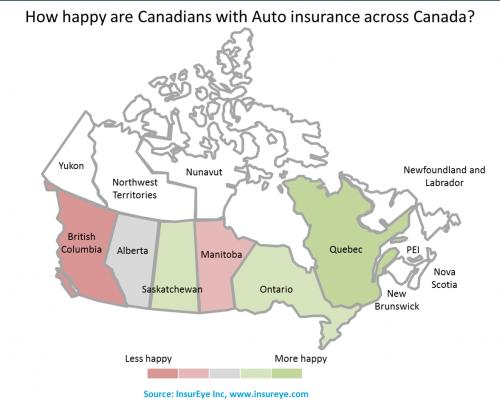 Auto Insurance Attitude in Canada