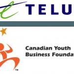 CYBF Telus Logo, Small