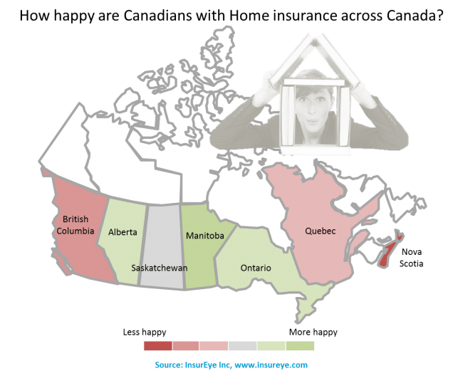 Home Insurance Customer satisfaction in Canada