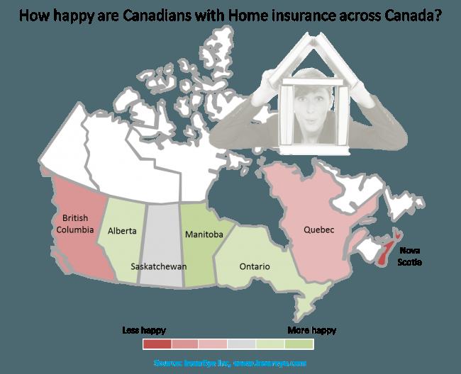 Home Insurance Customer satisfaction in Canada