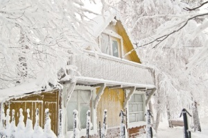 Winter Home Insurance - House