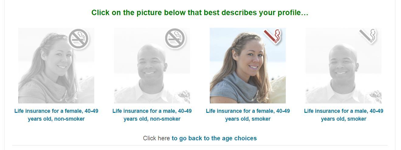 term life insurance rates - profiles