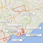 Toronto Real Estate Cost per Square Foot by Neighbourhood